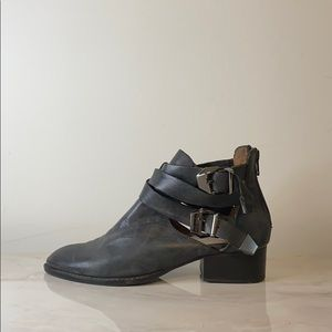 Jeffrey Campbell Cutout Ankle Boots